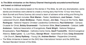 bible docudrama